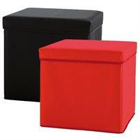 הדום דקורטיבי, צבעוני המשמש גם כקופסת אחסון לבית או לחדרי ילדים BOXY