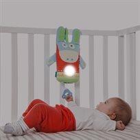 מנורת שינה מנגנת וניידת חמורון