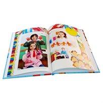 מסכמים שנה נהדרת בגן! אלבום סוף שנה בגודל A4 אנכי כרוך בכריכה קשה 32 עמודים