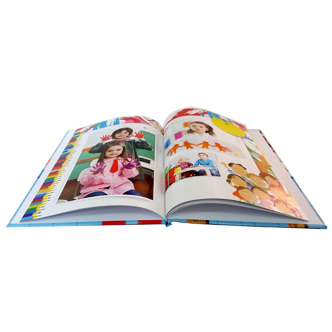 מסכמים שנה נהדרת בגן! אלבום סוף שנה בגודל A4 אנכי כרוך בכריכה קשה 32 עמודים - תמונה 2