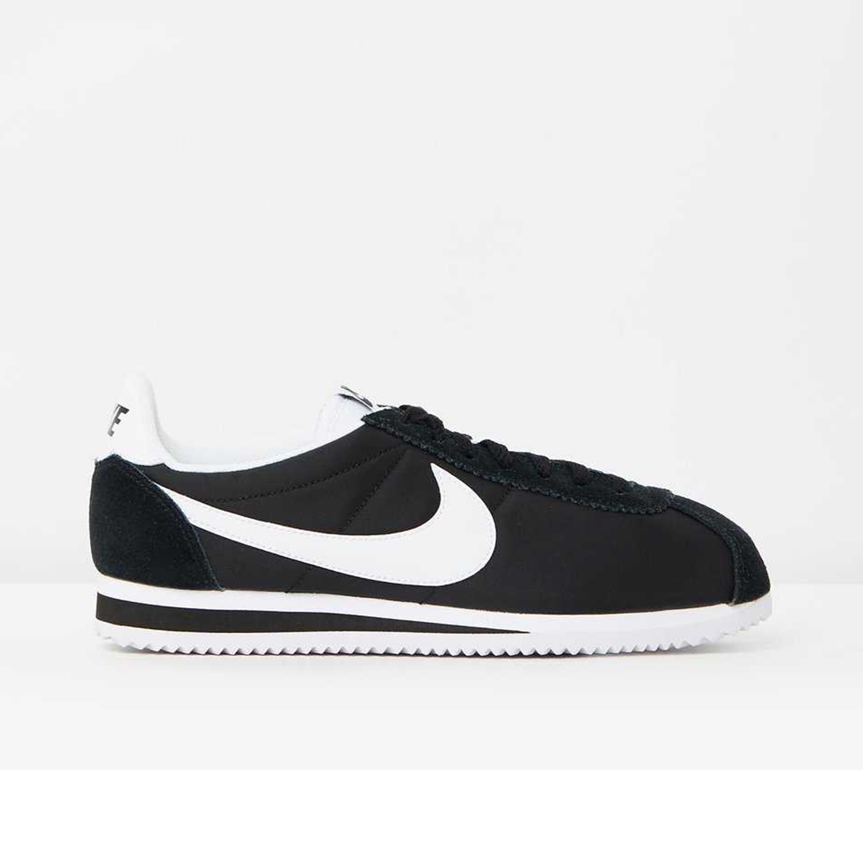 נעלי נייק לגבר דגם Classic Cortez Nylon - שחור