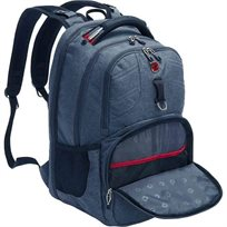"Swiss Brit 13"" Backpack Grey"