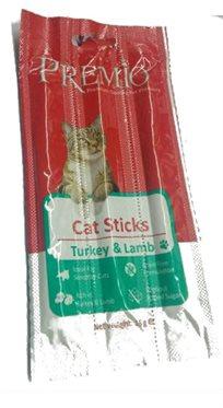 מבצע כמות חטיף לחתול 5 שלישיות מקלות פרימיו