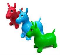 סוס קפיצה ג'ימבורי לילדים במגוון צבעים לבחירה - משלוח חינם!