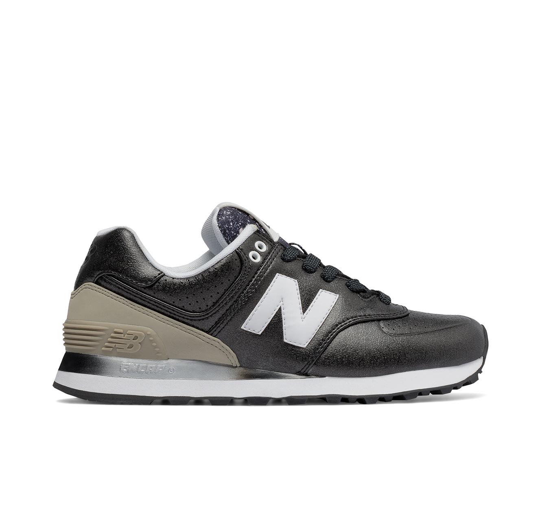 נעלי ריצה לנשים NEW BALANCE דגם WL574RAA - שחור/לבן