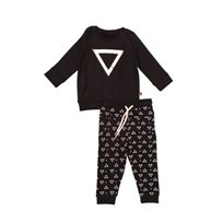 ORO חליפה (3 חודשים - 4 שנים) - משולש שחור