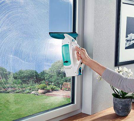 מנקה חלונות, מראות ומשטחים חלקים שונים שואב מים ולכלוך ללא סימנים LEIFHEIT גרמניה - משלוח חינם - תמונה 4