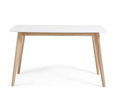 שולחן פינת אוכל בעיצוב מודרני בצבע לבן