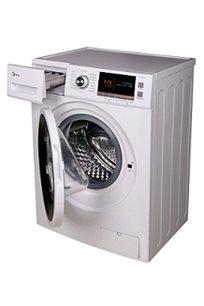 """מכונת כביסה פתח קידמי 8 ק""""ג MIDEA  צג דיגיטלי מפואר 5 שנים אחריות - משלוח חינם!"""