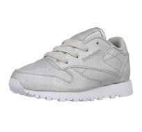 נעלי ספורט לנערות REEBOK דגם CN5582 בצבע כסוף מטאל