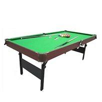 משחקים בבית! שולחן ביליארד 7 פיט דגם PR7 מבית CitySpor עם מנגנון קיפול מהיר, נייד ונוח לאחסון.