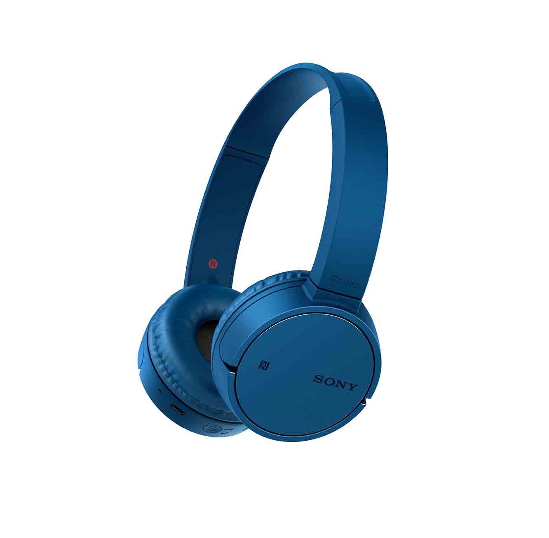 אוזניות סוני דינמיות BT NFC מיקרופון מובנה דגם MDR-ZX220BT יבואן רשמי