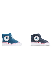 Converse תינוקות //  מארז גרביים כחול כהה