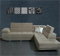 ספה פינתית דגם אקוודור במגוון צבעים לבחירה