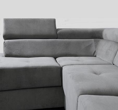 מערכת ישיבה פינתית דגם אקוודור בריפוד דמוי עור בעל מגע נעים וקל לניקיון דגם אקוודור VITORIO DIVANI - תמונה 7