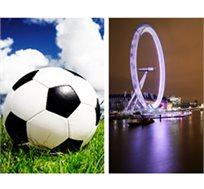 הליגה האנגלית! כרטיס למשחק כדורגל לבחירתכם כולל טיסות ללונדון ו-3 לילות במלון רק בכ-£739* לאדם!
