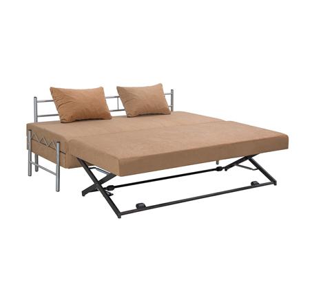 ספת ילדים ונוער LEONARDO על קל איכותית הנפתחת למיטה זוגית דגם שקד כולל ארגז מצעים - תמונה 8