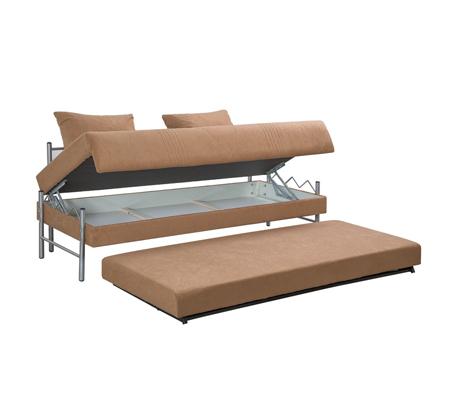 ספת ילדים ונוער LEONARDO על קל איכותית הנפתחת למיטה זוגית דגם שקד כולל ארגז מצעים - תמונה 7