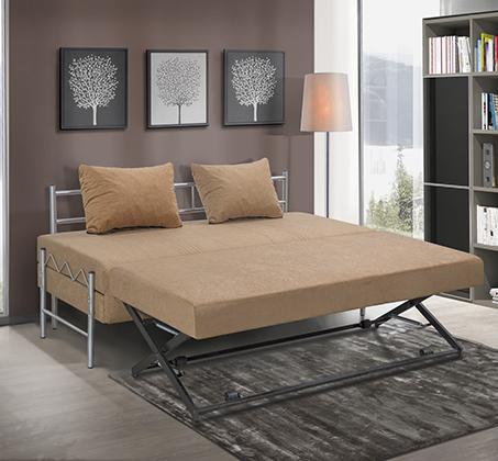 ספת ילדים ונוער LEONARDO על קל איכותית הנפתחת למיטה זוגית דגם שקד כולל ארגז מצעים - תמונה 4