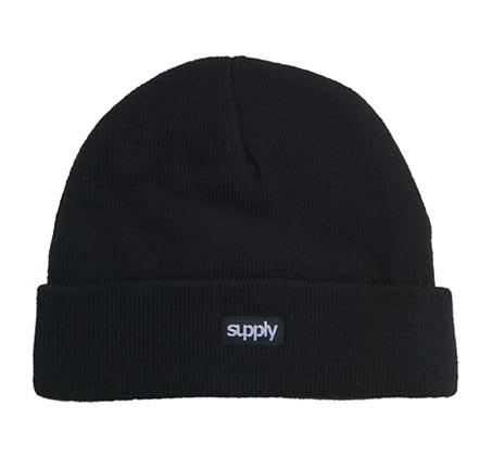 כובע גרב SUPPLY - שחור