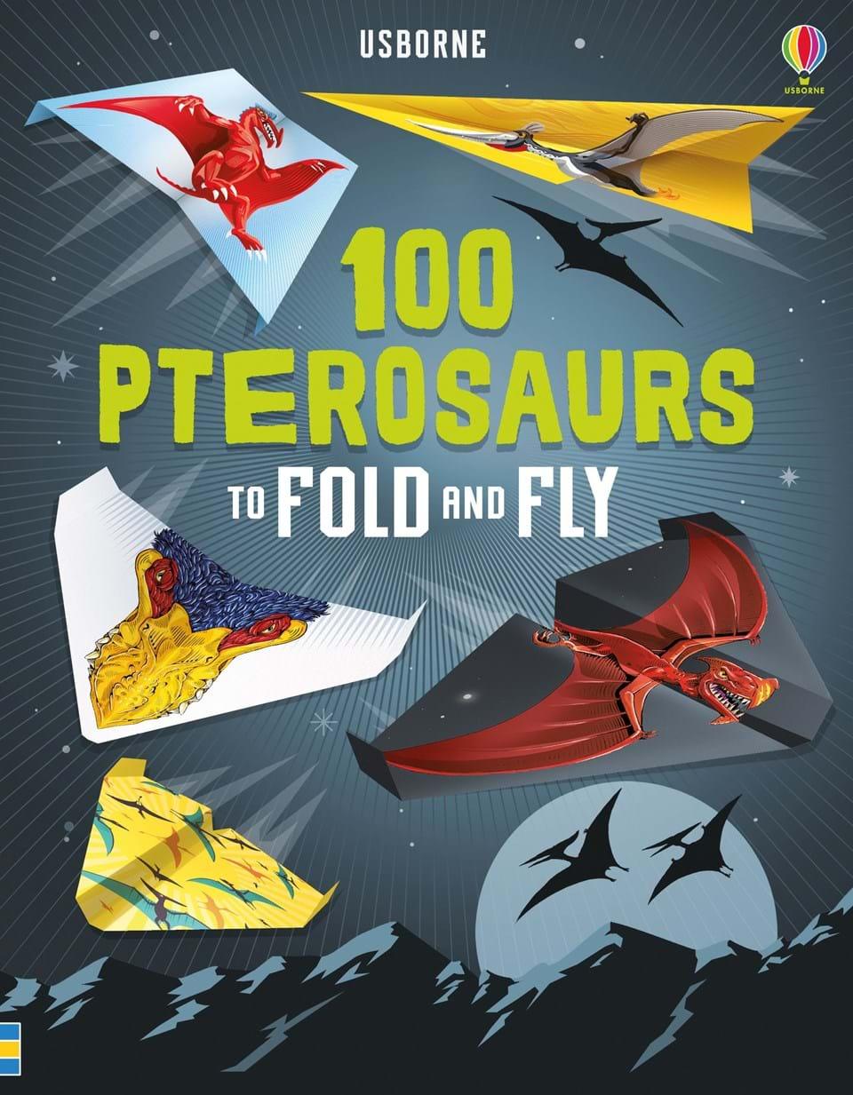 100 מטוסי נייר - דינוזאורים