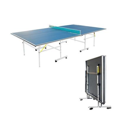 שולחן טניס פנים Roberto Ferre כולל רשת ואפשרות לחצי קיפול למשחק עצמי - תמונה 3