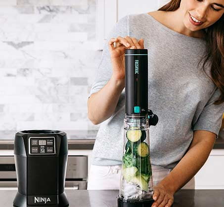 נוטרי נינג'ה Auto IQ עם משאבת וואקום דגם BL582 מקצועי להכנת משקאות ושייקים בריאים - משלוח חינם - תמונה 4