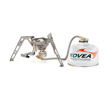 גזיית עכביש מקצועית עם מנגנון נגד רוח לבישול ושימוש בכל תנאי השטח דגם CAMP4-SPIDER