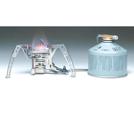 כירה מתקפלת מקצועית עם בעירה חזקה ומנגנון נגד רוח לבישול ושימוש בכל תנאי השטח דגם CAMP4-SPIDER - משלוח חינם - תמונה 3