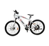 """אופני הרים חשמליים בעלי גלגלי """"27.5 הכולל סוללת SONY נשלפת ובולם קדמי SUNTOUR"""