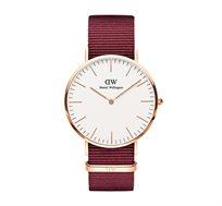 שעון יד אנלוגי לגבר רוז גולד Classic Roselyn - אדום
