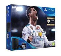 קונסולה Playstation 4 דגם SLIM בנפח 500GB כולל המשחק FIFA 2018