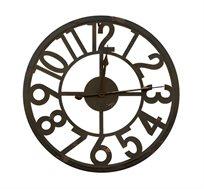 שעון קיר דגם קונטור בעיצוב מודרני מגוון צבעים לבחירה U DESIGN