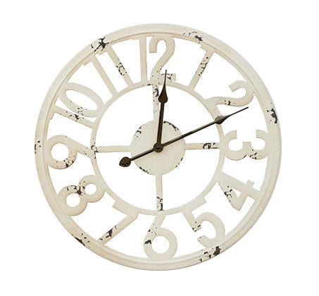 שעון קיר דגם קונטור בעיצוב מודרני מגוון צבעים לבחירה U DESIGN - תמונה 2