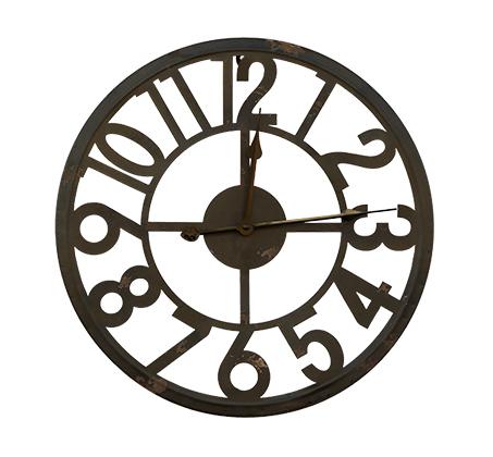 שעון קיר קונטור במגוון צבעים לבחירה