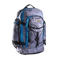 תיק טיולים 85 ליטר איכותי ומרווח דגם TAZMANIA מבית CAMPTOWN + תיק גב מתנה