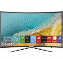 """טלוויזיה SAMSUNG קעורה """"55  Smart TV תפריט בעברית דגם UE55K6372"""