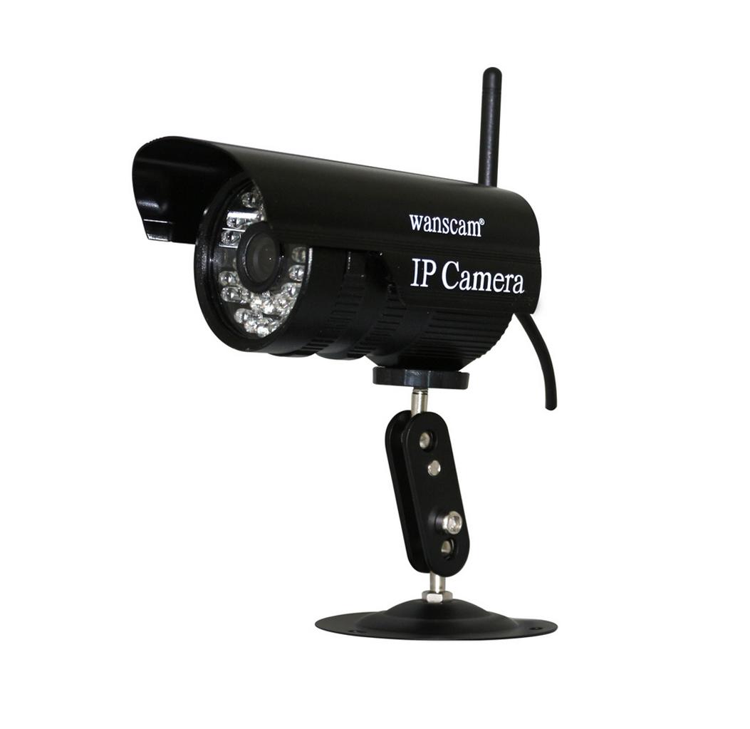 מעולה מצלמת אבטחה IP אלחוטית חיצונית JW0011 מבית WANSCAM עם ראיית לילה CR-57