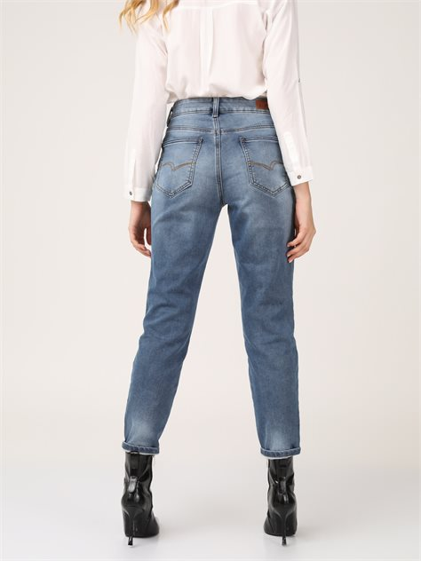 Mom_Jeans גזרה גבוהה