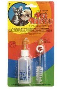 ערכת הנקה לגורי חתולים יונקים (בקבוק + מברשת)