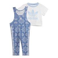 Adidas תינוקות// Culture Clash Jumpsuit Set Clear Sky Multicolor