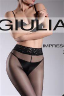 גרביון 20 דיינר Giulia עם תחרה במותן - צבע לבחירה