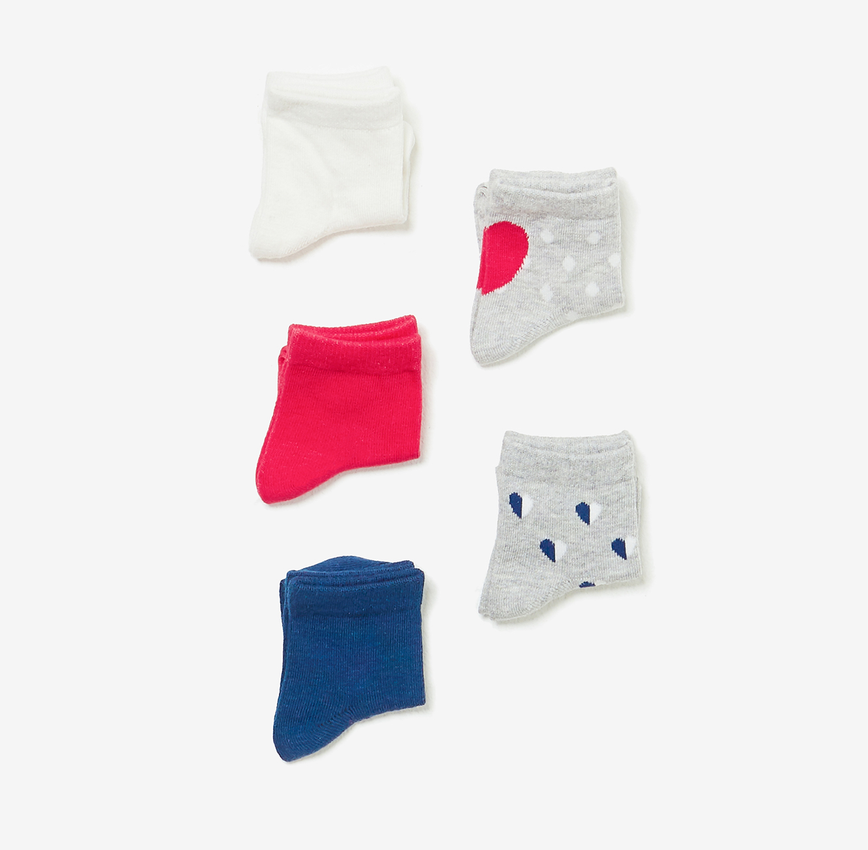 מארז 5 זוגות גרביים OVS לילדות