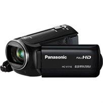 מצלמת וידאו Panasonic HCV110 צילום ביתי באיכות Full HD עם זום אופטי 38x זום דיגיטלי x72 + מתנות