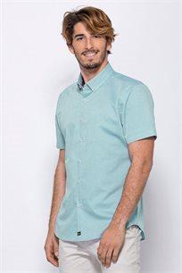 חולצת אריג אוקספורד