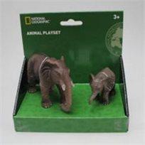 מארז חיות ג'ונגל ויער National Geographic - פילים