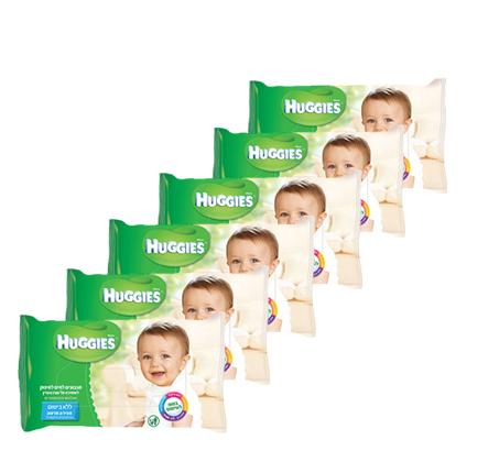 28 חבילות מגבוני Huggies ללא בישום - תמונה 2