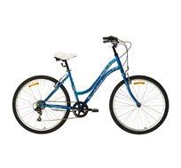 אופני עיר לנשים בצבע כחול