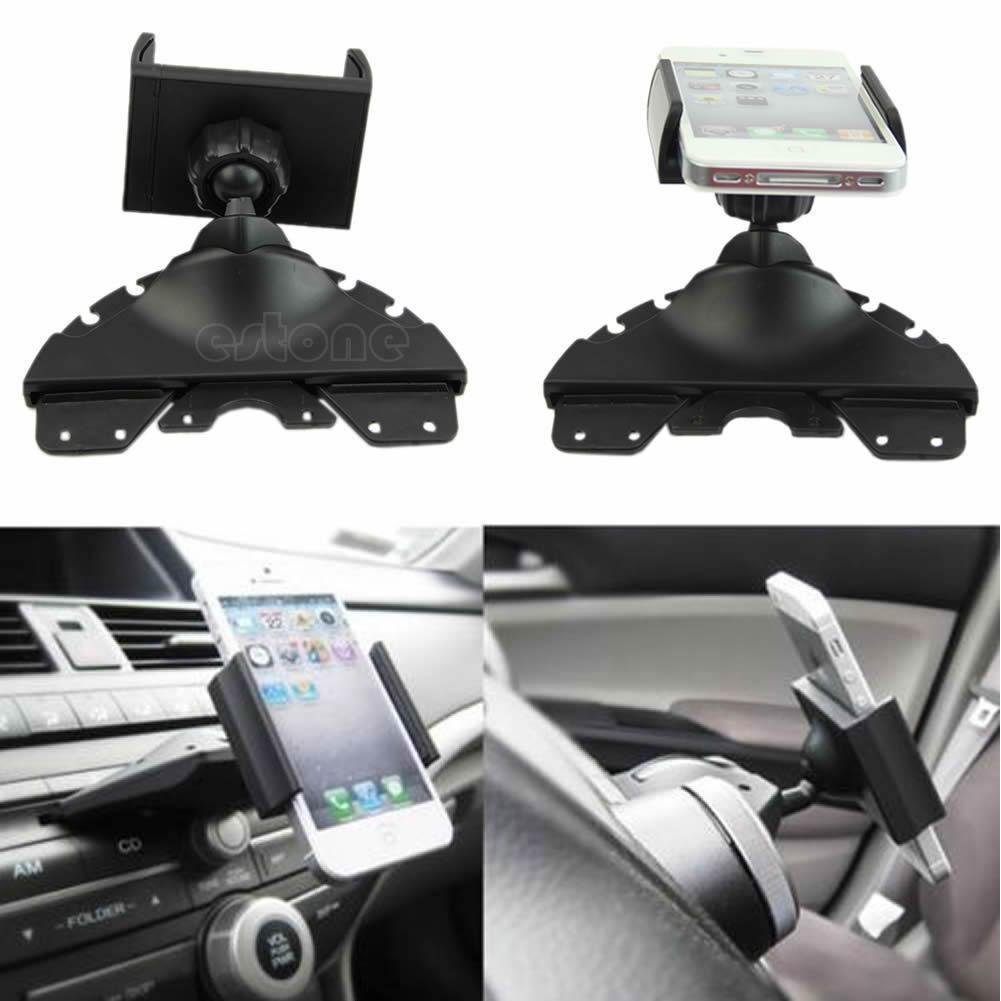 מעמד קליפס אוניברסלי המתחבר לפתח ה-דיסק ברכב  ומותאם לכל המכשירים החדשים בהתקנה קלה - תמונה 2