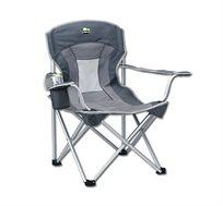 כסא שטח Fluffy עשוי אלומיניום חזק ומרווח GoNature